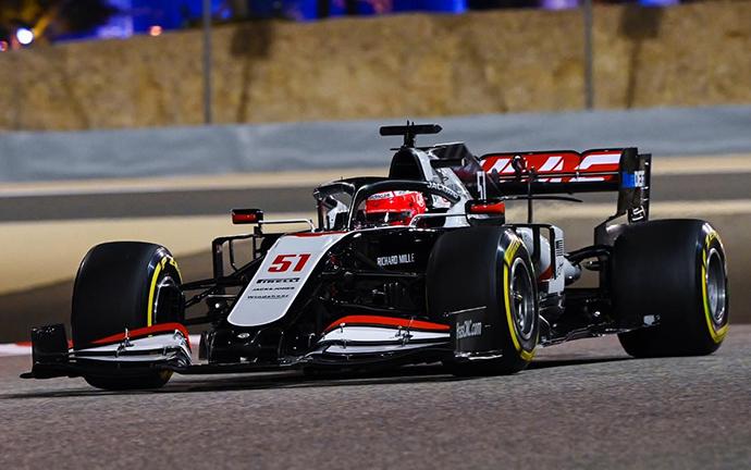 Viernes en Sakhir – Haas sigue sin ritmo en el nuevo trazado de Baréin