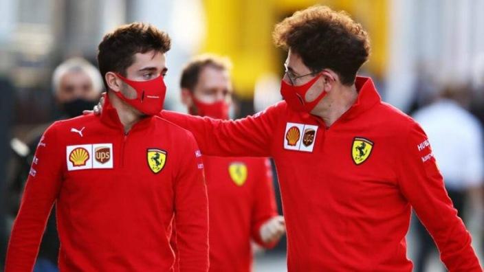 """Binotto, sobre Leclerc y Schumacher: """"A menudo los comparo"""""""
