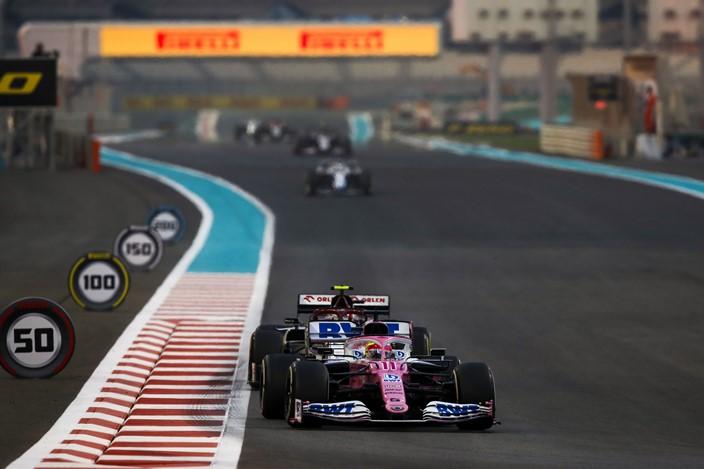 Domingo en Abu Dabi – Racing Point: carrera desastrosa y P4 en el Mundial de Constructores
