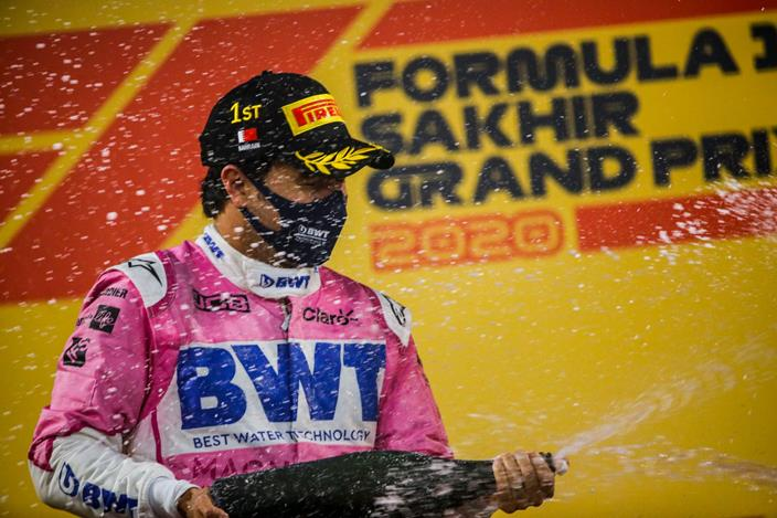 Domingo en Sakhir - Racing Point tiene un día rosa mexicano