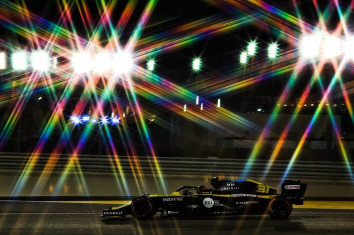 Domingo en Sakhir - Renault sube al podio con una impecable carrera de Ocon