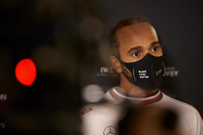 Mercedes espera que Hamilton pueda estar en Abu Dabi