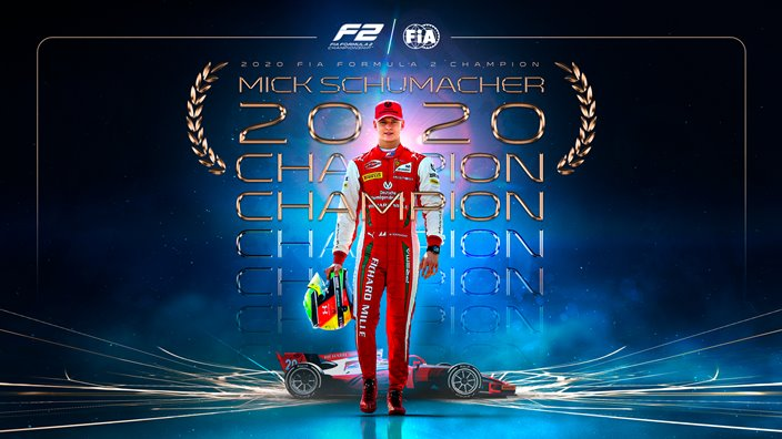 Mick Schumacher, nuevo campeón de la F2