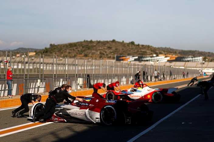 #PreSeasonTesting de Fórmula E: Günther lidera la última sesión de prácticas en Valencia