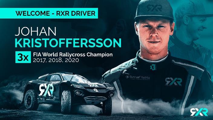 Rosberg Xtreme Racing confirma a Johan Kristoffersson como su primer piloto de Extreme E