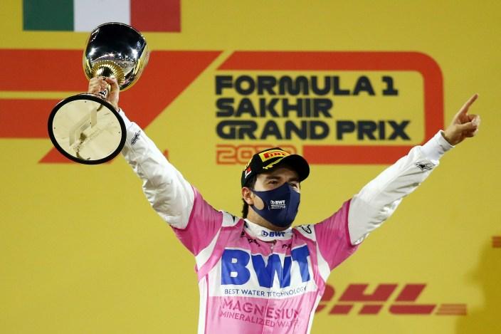 Ross Brawn habla sobre las actuaciones de Pérez y Russell en el reciente GP de Sakhir