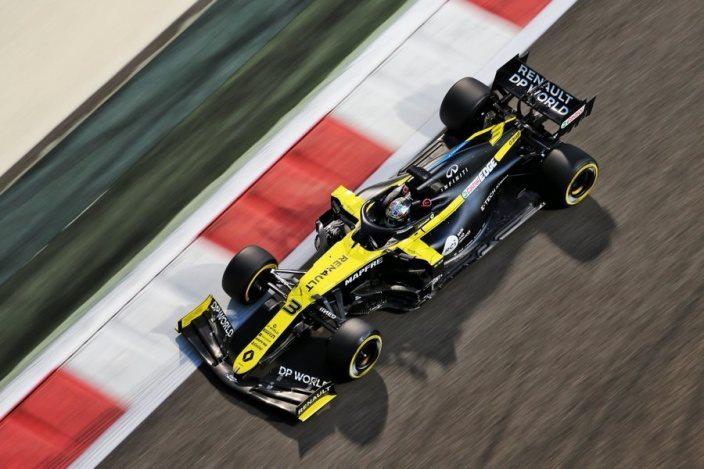Viernes en Abu Dabi – Renault: buenos tiempos a pesar de un fallo en los Libres 1