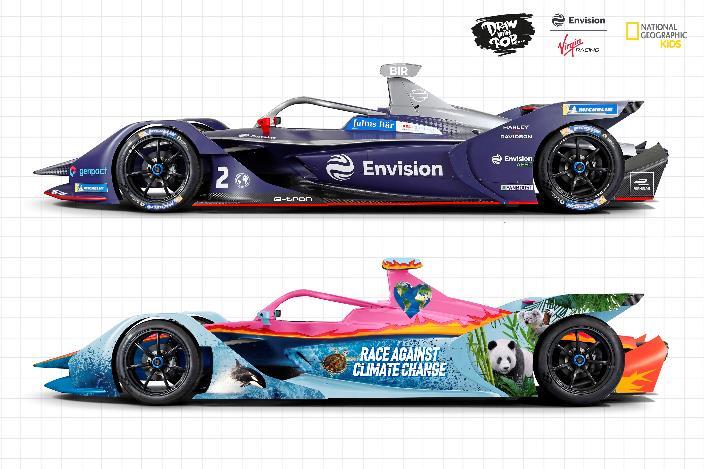 ninos-a-disenar-los-ecomonos-para-los-pilotos-de-envision-virgin-racing-de-formula-e