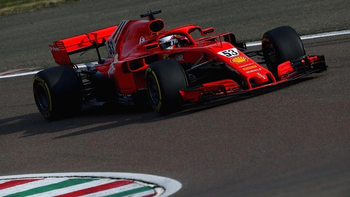 Ferrari completa satisfactoriamente sus 5 días de pruebas en Fiorano