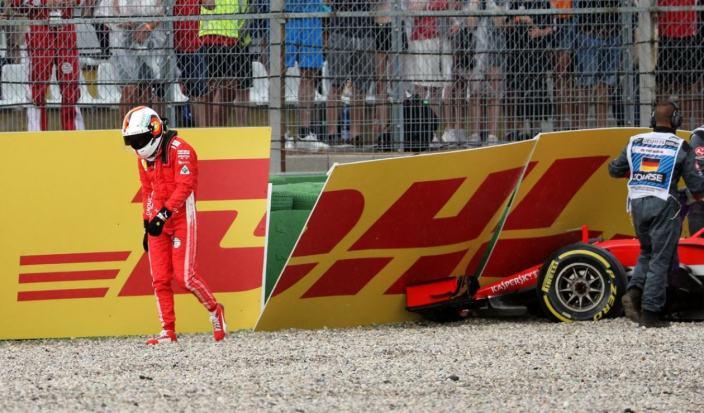 """Marko, sobre Vettel: """"Esa inseguridad comenzó con el accidente de Hockenheim en 2018"""""""