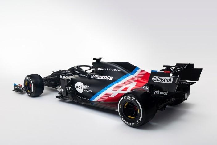 Ya conocemos un adelanto del A521, el nuevo coche de Alonso y Ocon