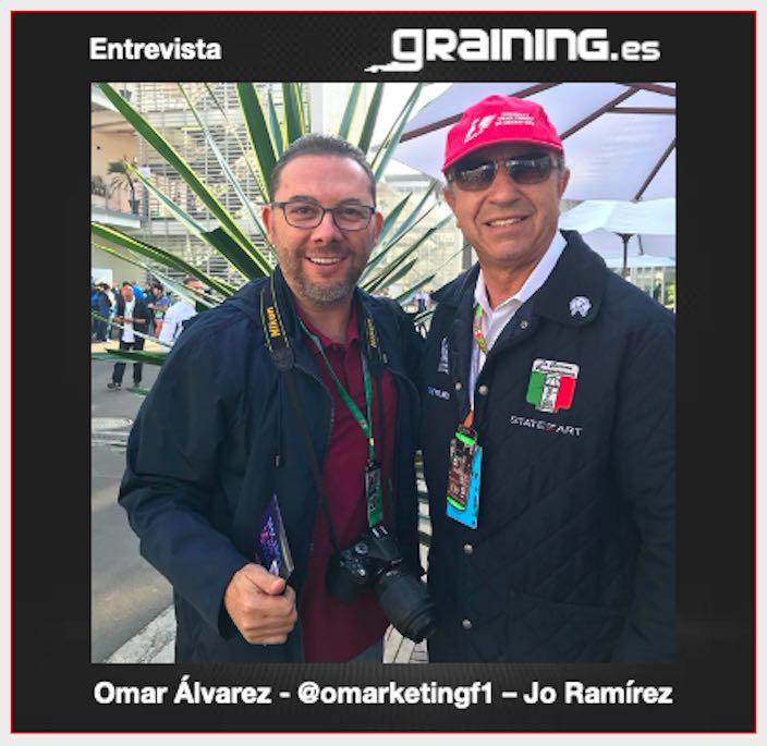 Entrevista con Jo Ramírez nombrado Leyenda F1 2020 por Auto Sprint