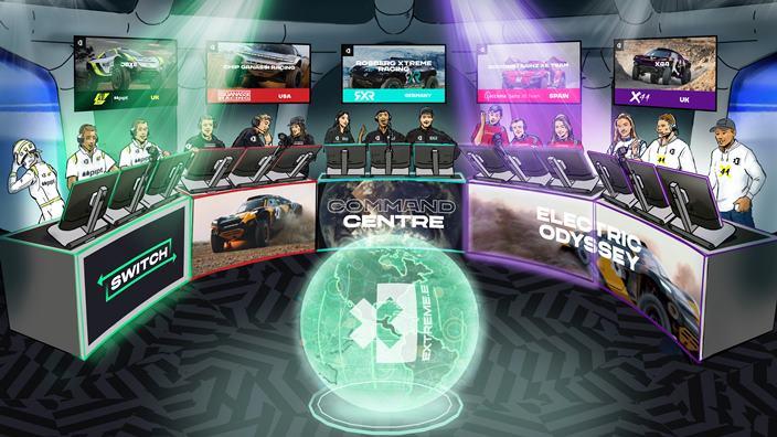 Extreme E revela un innovador 'Command Center'