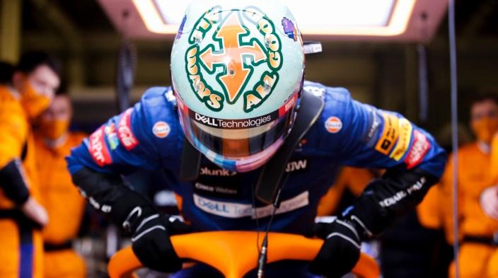 """Norris ya aprende de Ricciardo: """"Hay cosas en el simulador que ya he podido captar"""""""