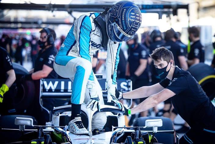 Russell y Ocon, en el punto de mira de Mercedes para 2022