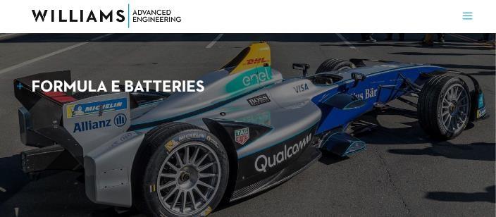 Williams será el proveedor de las baterías para el GEN 3 de la Fórmula E
