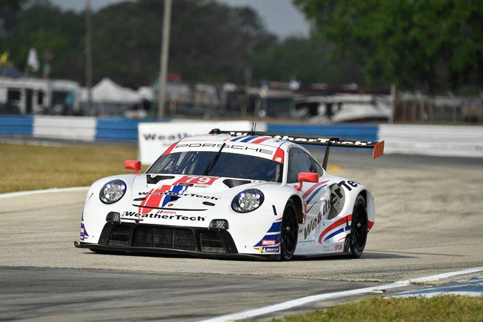 JDC Miller gana en las 12 horas de Sebring; Porsche gana sorpresivamente en GTLM