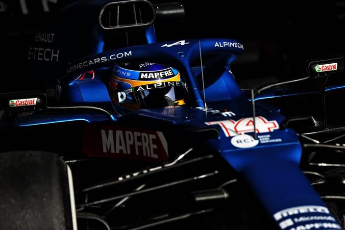 Alonso afronta el inicio de temporada con optimismo