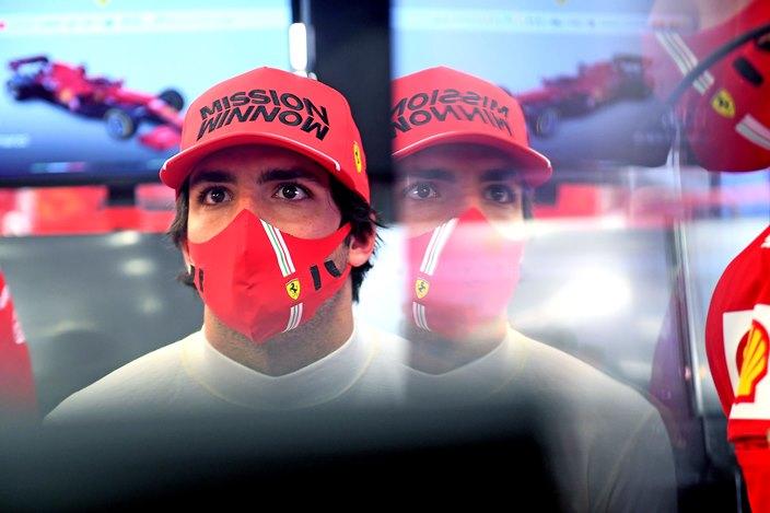 Carlos Sainz se adaptó rápidamente a Ferrari, según Binotto