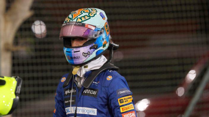 Ricciardo corrió desde la primera vuelta el GP de Baréin con el coche dañado