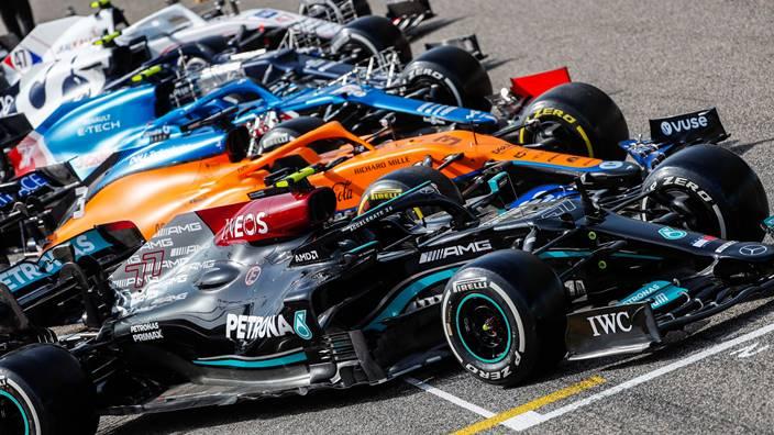 El ranking por equipos tras los test de pretemporada, según la F1