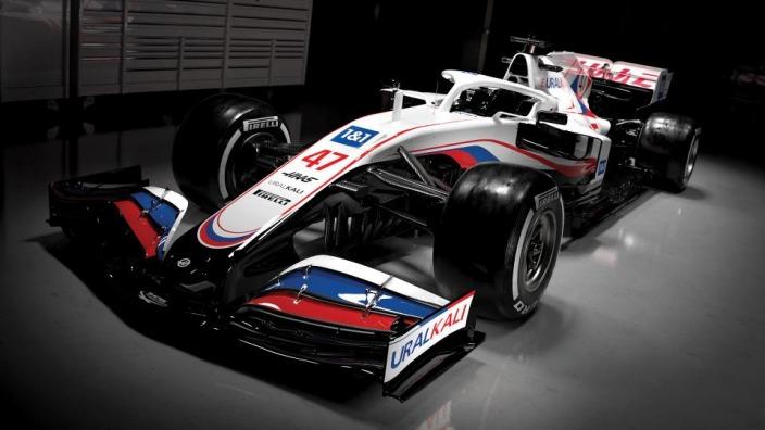 Haas presenta su nueva decoración y un nuevo patrocinador principal