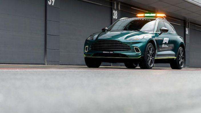 Aston Martin y Mercedes-AMG serán los autos de seguridad oficiales de la Fórmula 1®