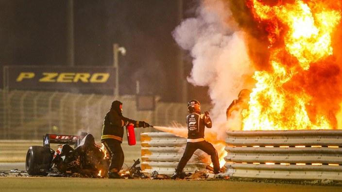 La FIA concluye sus investigaciones sobre el accidente de Grosjean en Baréin