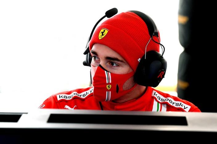 Leclerc trabajó más tiempo con Ferrari tras contagiarse de coronavirus