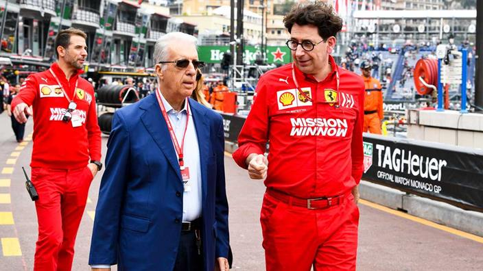 Piero Ferrari, descontento con la falta de espectáculo de la F1