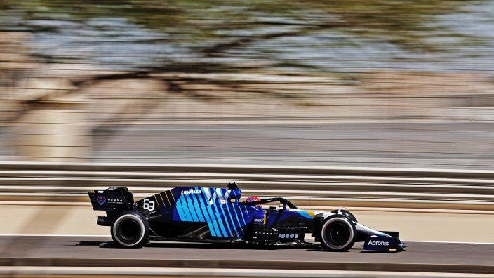 """Russell: """"Podríamos ser muy rápidos en 10 carreras y muy lentos en las otras 13"""""""
