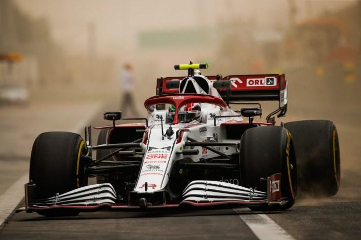 Test F1 2021: Día 1 - Alfa Romeo empieza la pretemporada con solidez