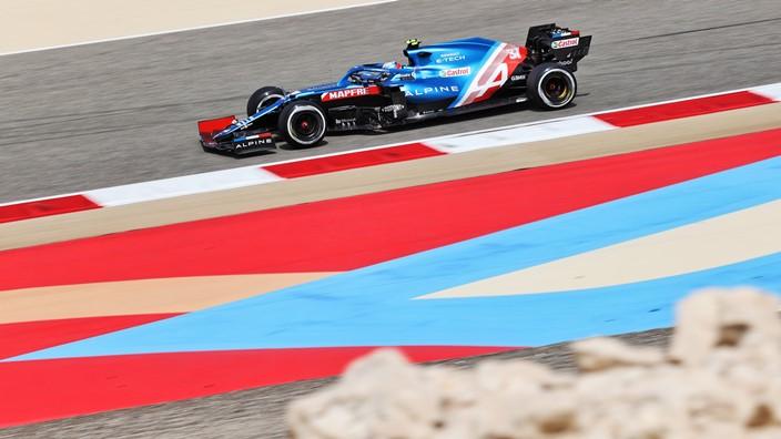 Test F1 2021: Día 1 – Alpine comienza con buenas sensaciones