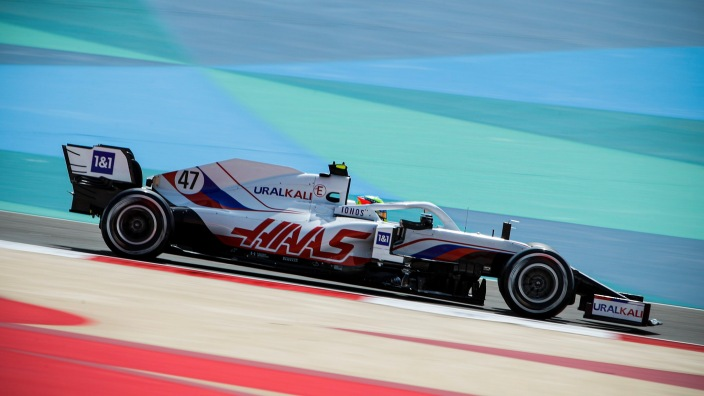 Test F1 2021: Día 1 - Haas empieza con dificultades