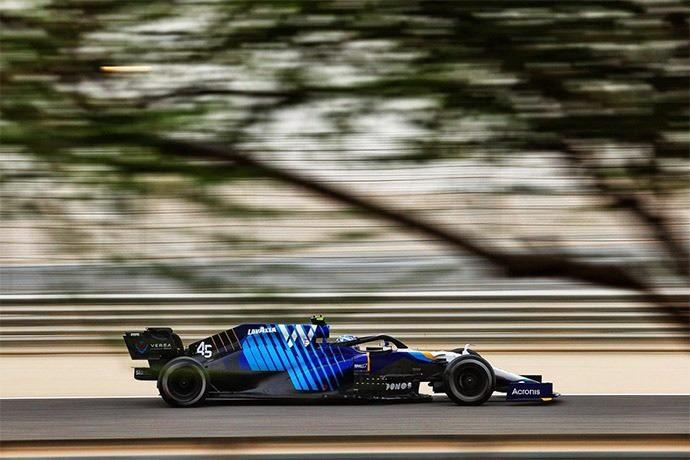 Test F1 2021: Día 1 - Williams trabaja con Roy Nissany
