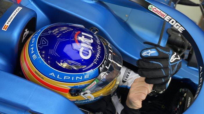 Test F1 2021: Día 2 – Alpine completa un gran programa de trabajo en el regreso de Alonso