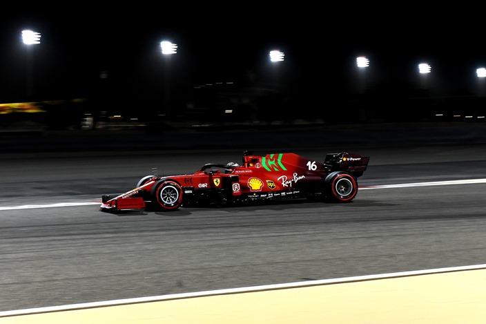 Test F1 2021: Día 2 – Ferrari divide su trabajo entre Sainz y Leclerc