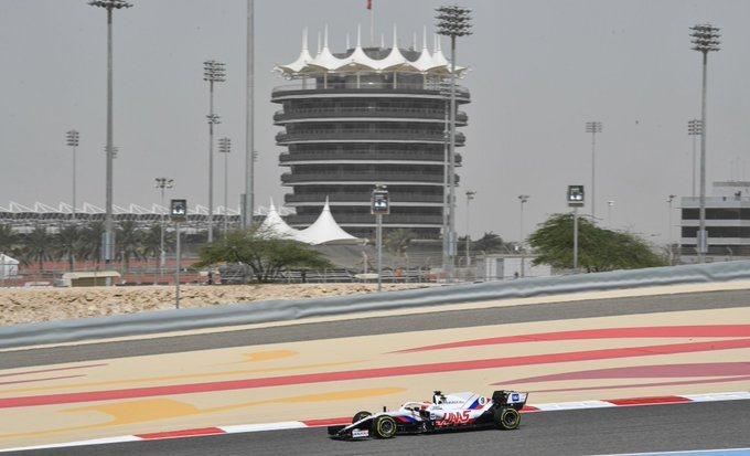 Test F1 2021: Día 2 - Haas lidera el número de vueltas de la jornada