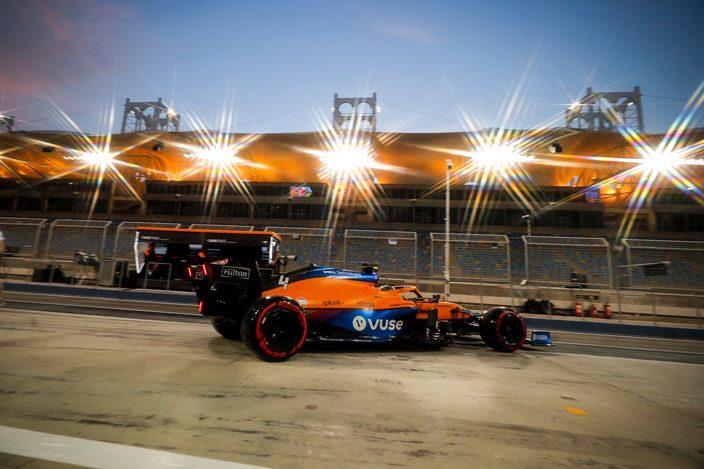 Test F1 2021: Día 2 – McLaren sigue haciendo las cosas muy bien