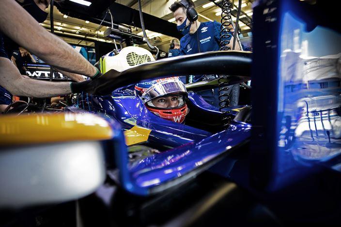 Test F1 2021: Día 3 - Williams se retira satisfecho de la pretemporada