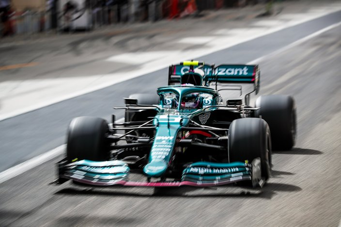"Vettel: ""No conseguimos lo que queríamos, me han faltado 100 vueltas"""