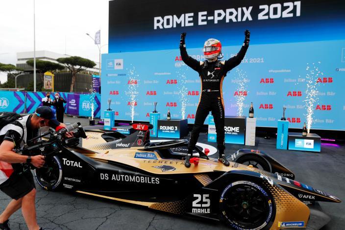 #RomeEPrix- Los felinos liderados por Vergne saltan al podio