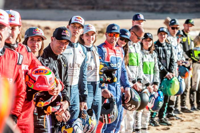 Primeras impresiones del Shakedown en el #DesertXPrix
