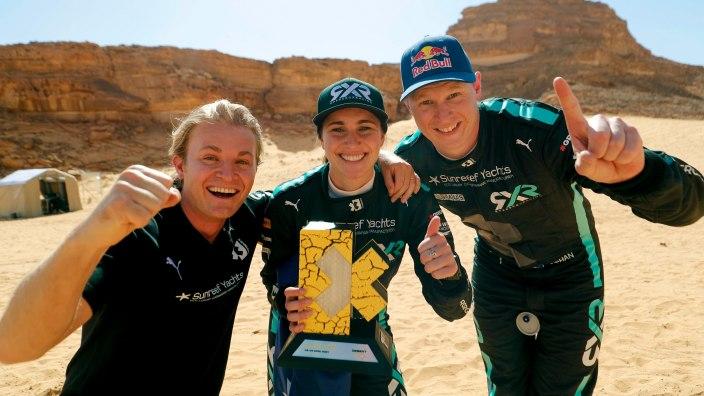 A veces se trata de escribir la historia: Rosberg X Racing