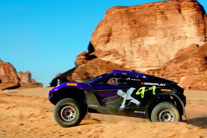 La dupla Loeb/Gutierrez (X44) rompe los cronos de la Quali del #DesertXPrix