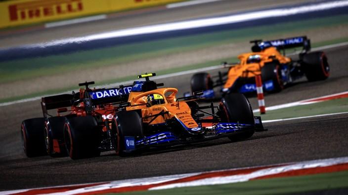 Andreas Seidl, contento con el rendimiento de McLaren en Baréin