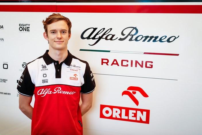 Callum Ilott ficha por Alfa Romeo como reserva y debutará en la FP1 de Portugal
