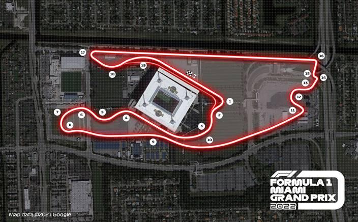 Confirmado el GP de Miami para 2022