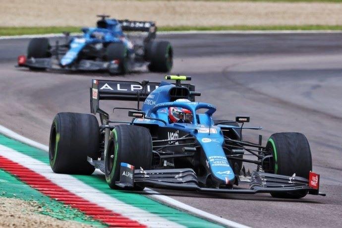 Domingo en Emilia Romaña – Alpine rescata tres puntos con Ocon y Alonso