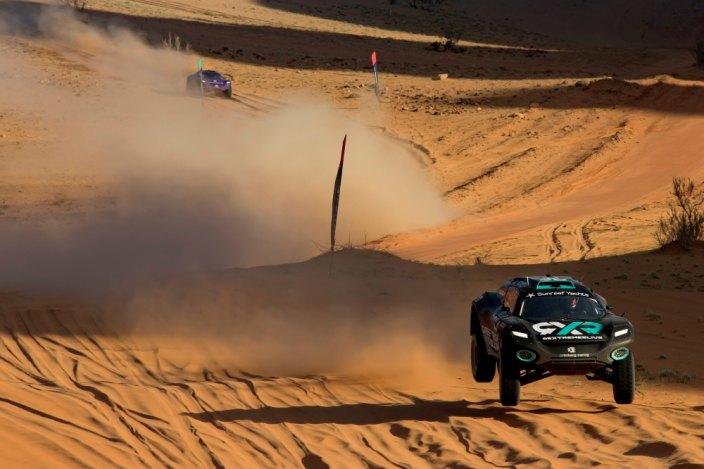 Taylor y Kristoffersson llevan al RXR a la primera victoria en la Extreme E